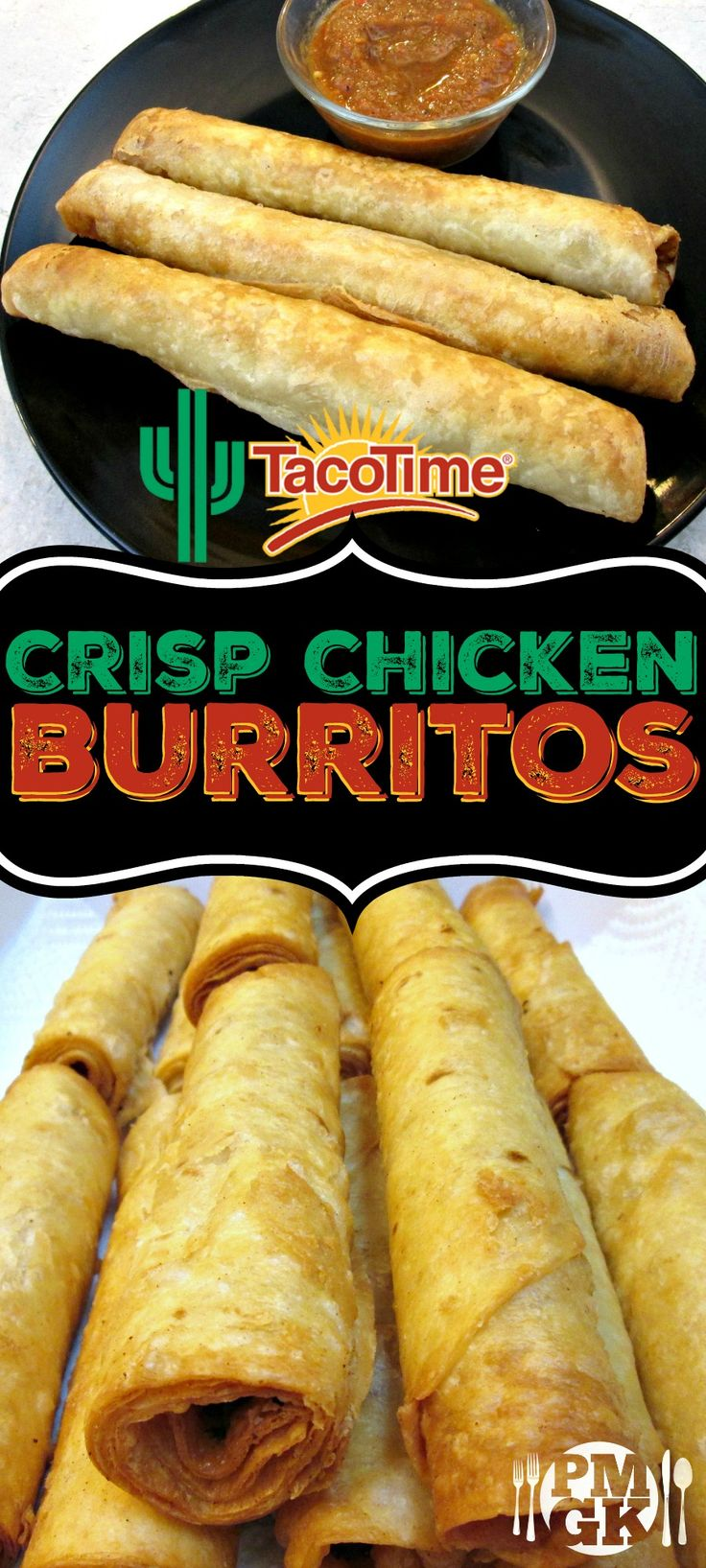 This Crisp Chicken Burritos recipe is quick, fun and delicious! Be sure to watch the short video tutorial and I'll show you, just how easy these are to make.  Poor Man's Gourmet Kitchen