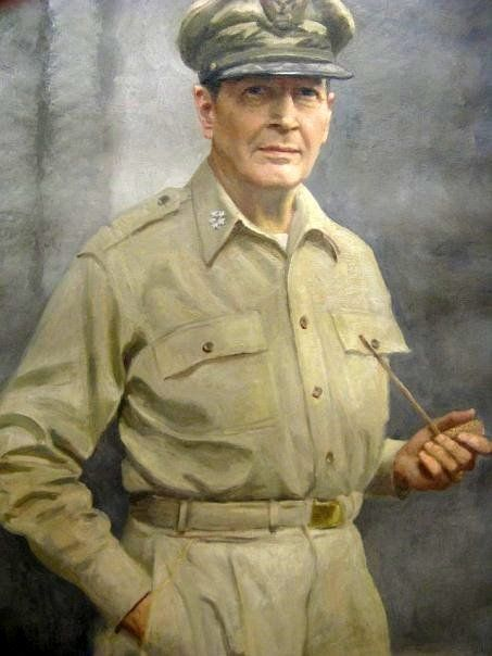 T.E.Stephens - Gen. Douglas MacArthur