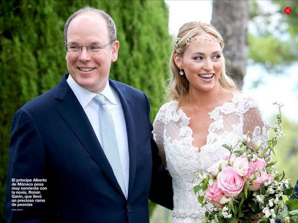 Princess Charlene brother (Gareth Wittstock) marries in Monaco