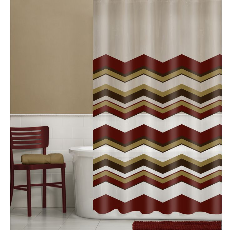 Maytex Chevron Vinyl Shower Curtain 13 piece SetBest 25 Vinyl shower  curtains ideas on Pinterest Clean showerMaroon Shower Curtain Set  Retro Shower Curtain Designer Shower  . Maroon Shower Curtain Set. Home Design Ideas
