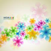 Flower vector — Stock vektor