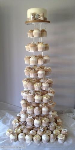 NEW 10 TIER CIRCLE CUPCAKE WEDDING CUP CAKE PARTY STAND | eBay