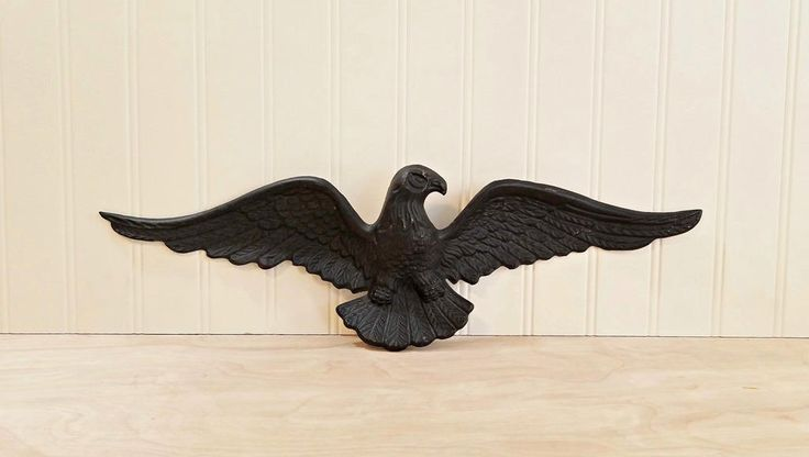 Vintage Cast Iron Eagle Americana Decor Garage Decor Porch Decor Patriotic Decor Eagle Decor Cast Iron Decor Patio Decor by HipCatRetroVintage on Etsy