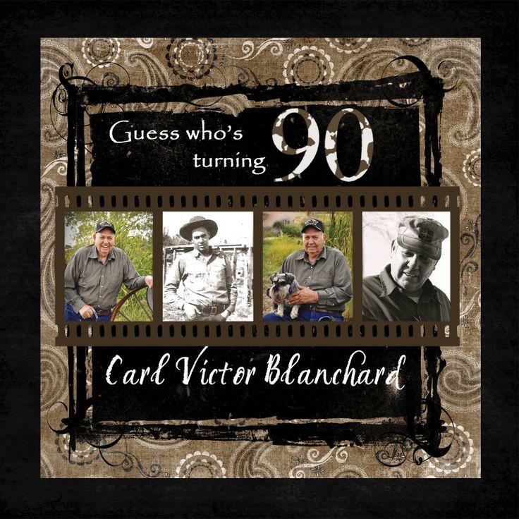 90th birthday invitations McMama's Memories: My Grandpa