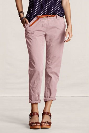 Women's Lightweight Slouch Chinos