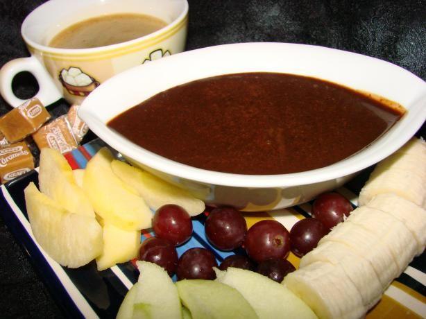 Mocha Caramel Fondue Recipe - Food.com - 341587