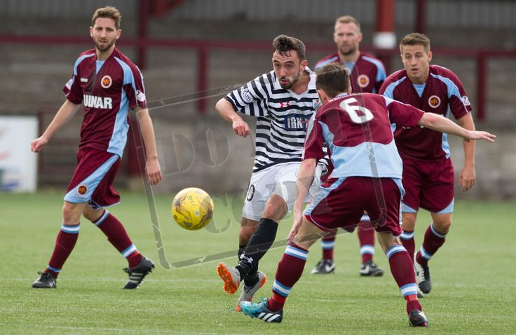 Queen's Park's Anton Brady in action during the Ladbrokes League One game between Stenhousemuir and Queen's Park.