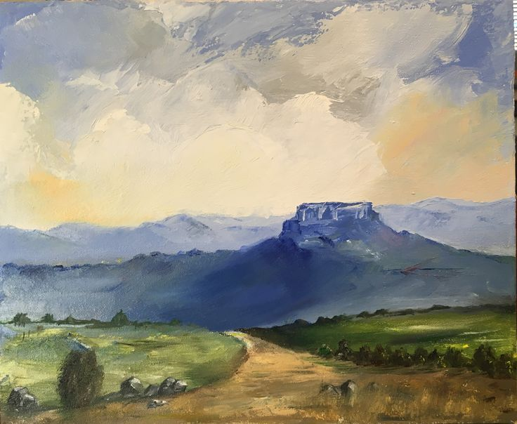 """""""Road to the Malutis - different time, different angle"""" (Eastern Freestate, South Africa)"""