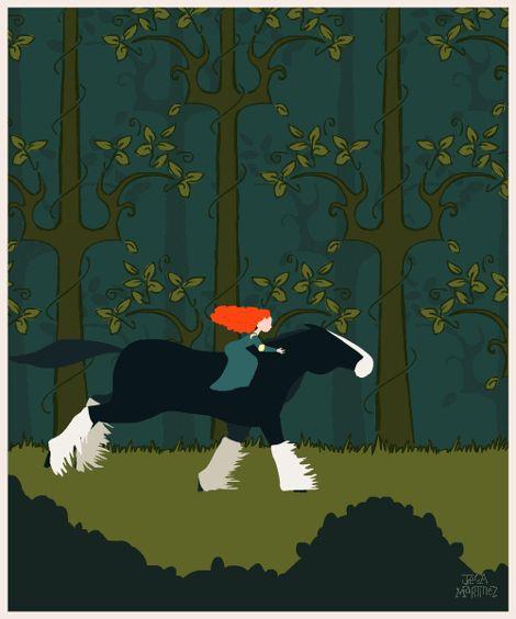 """Change Your Fate"" Merida - Brave  by Illustrator and Graphic Designer Jeca Martinez #3"