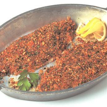 Cajun pecan catfish recipe