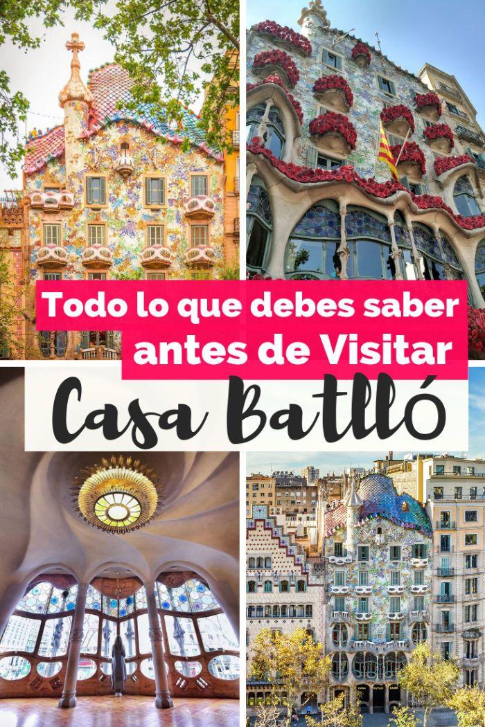 Visita Casa Batlló En Barcelona I Una Obra Maestra De Gaudí Gaudi Barcelona Antonio Gaudi Gaudi