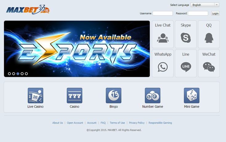 Casino Ibcbet/Maxbet Online