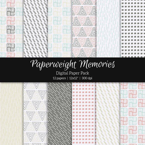 Patterned Paper – Paper planes by Paperweight Memories on @creativemarket  ... https://crmrkt.com/Qr3xB