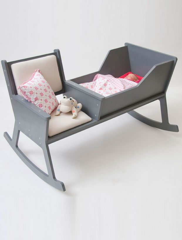 rockid rocking chair and cradle...
