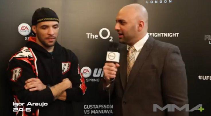 UFC Fight Night London: Igor Araujo Pre Fight Interview