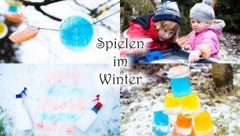 Spaß im Winter: 4 tolle Ideen zum Spielen draußen