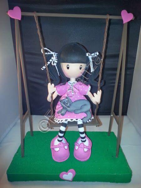 Fofuchas y otras manualidades: Otra muñeca tipo gorjuss