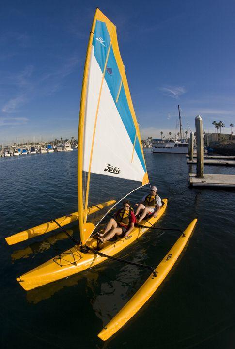 Hobie Mirage Tandem Island.  Paddle, pedal or sail.  SOON!