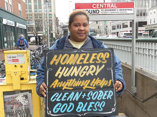 """Can Good Graphic Design Help The Homeless? """"Good design can't in itself help the lives of the homeless, but it can help give the homeless back their voice and humanity. If it can do that, design doesn't need to solve the homeless problem. We can do it ourselves."""""""