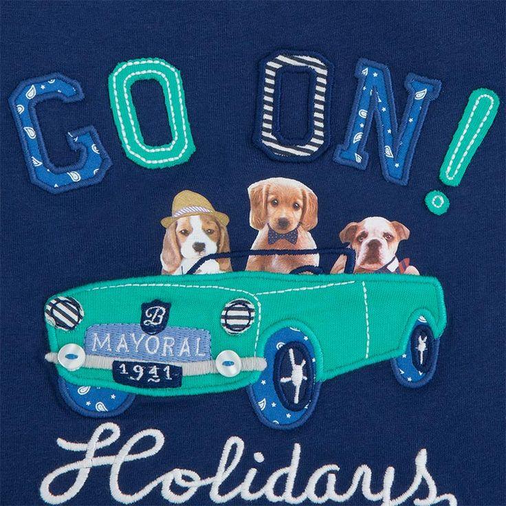 Mayoral Yazlık Erkek Bebek Uzun Kol T-shirt Koyu Mavi | 0-2 Yaş Erkek | Bebek House | Anne , Bebek Ve Çocuk Ürünleri - Bebek Mağazaları
