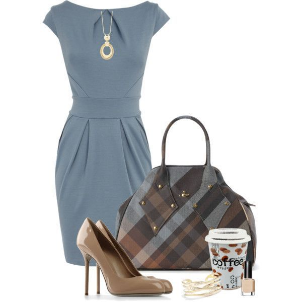 Fall morning meeting by happygirljlc on Polyvore.