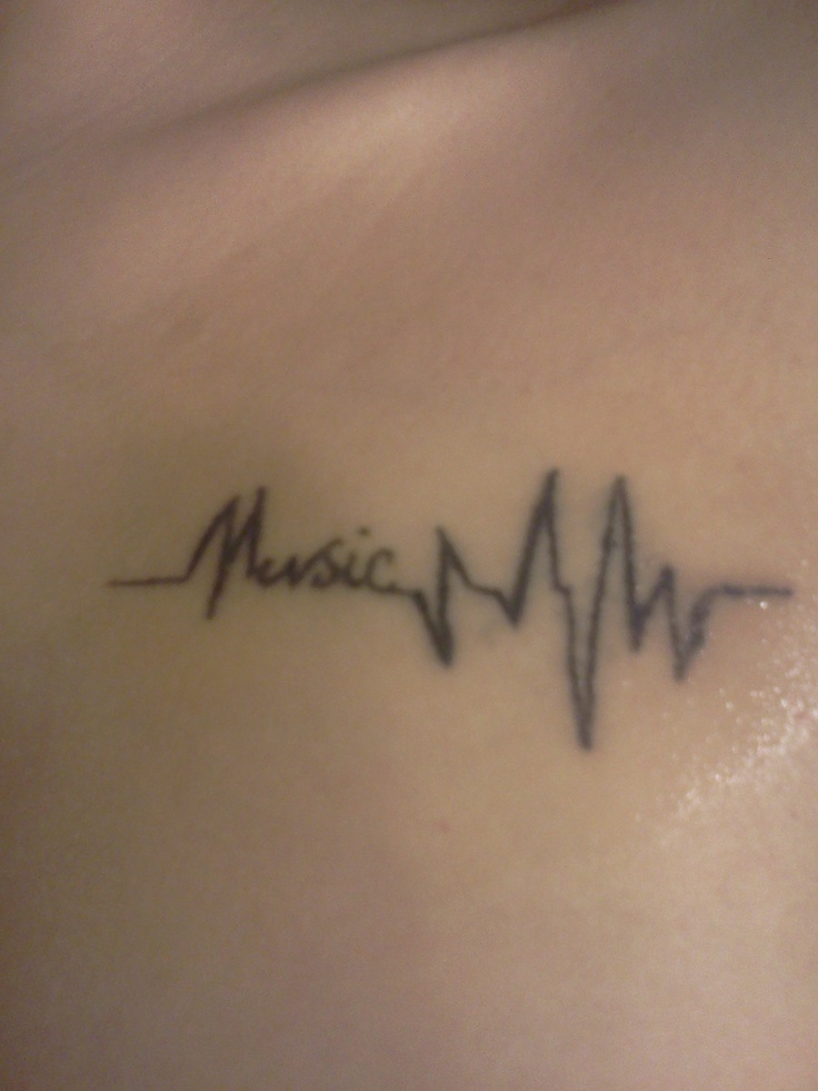 Music, this might be my first tat - love it!!