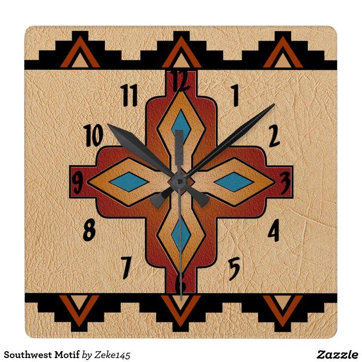 25 Best Ideas About Southwestern Wall Clocks On Pinterest
