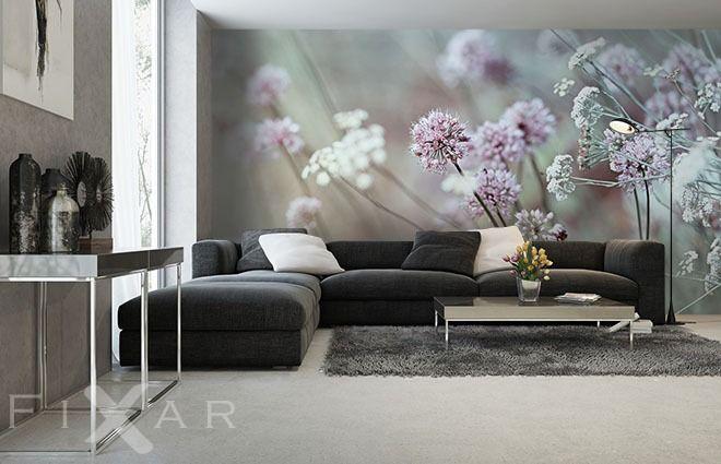 Steintreppen-treppe-fototapeten-fixar LED Leuchtwand - schöne tapeten für wohnzimmer