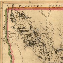Carey's Map of Louisiana in 1814