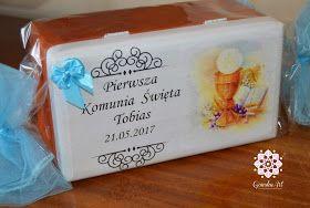 decoupage box- Gonska Art