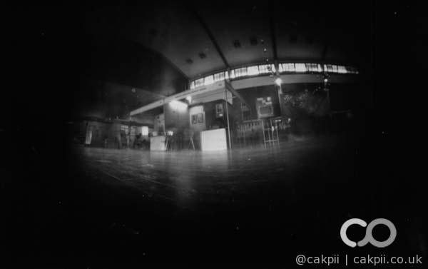 Interior of Parahyangan University's Hall.  Media: Photo Paper | Exposure: 3 hours