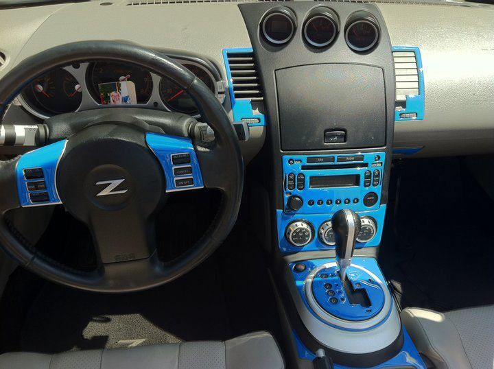 Working on the interior nissian 350z pinterest for Interieur 350z