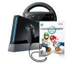 Wii Console with Mario Kart Wii Bundle - Black Reviews - Wii Console with Mario Kart Wii Bundle - Black    Wii Mario Kart, One Wii Remote Plus controller, One Nunchuk controller, Sensor Bar, Standard composite cable, Power-cord Features ControlsThe f