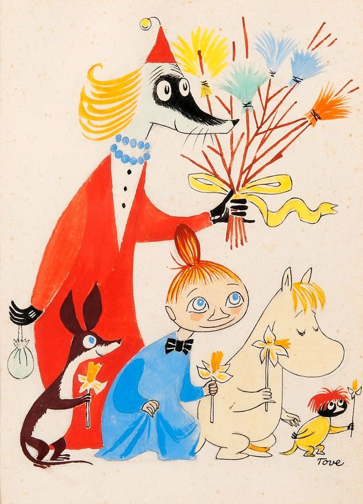 Happy Easter by Tove Jansson