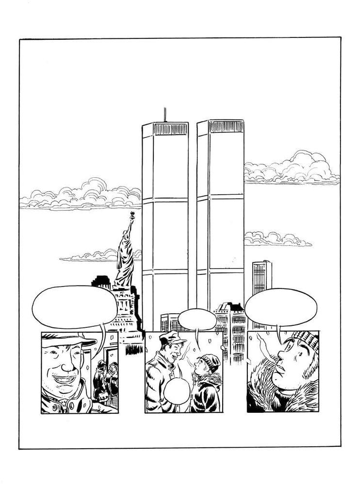 #OttoGABOS: «Ieri era l'11 settembre. #IlViaggiatoreDistante inizia così sotto le #TwinTowers in una giornata di sole gelido a ridosso del Natale 2000. Nove mesi prima del disastro.» | #LaDiligenzaDelSapere: #history; #biography.