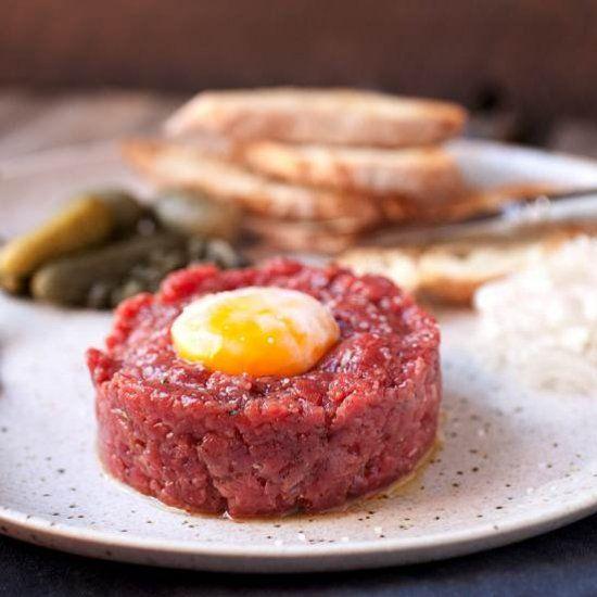 ... Classic Steak Tartare on Pinterest | Steak tartare, Classic and