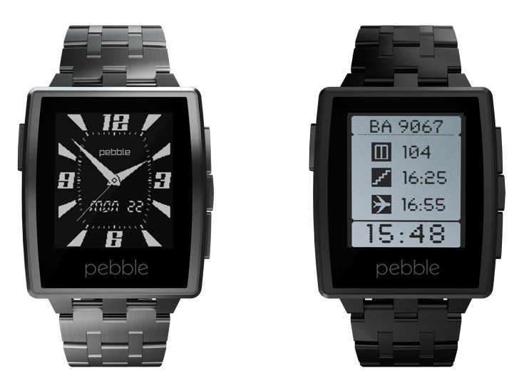 The Pebble Steel sure is purty