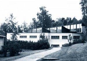 Il Museo Alvar Aalto a Jyväsky, Finlandia.