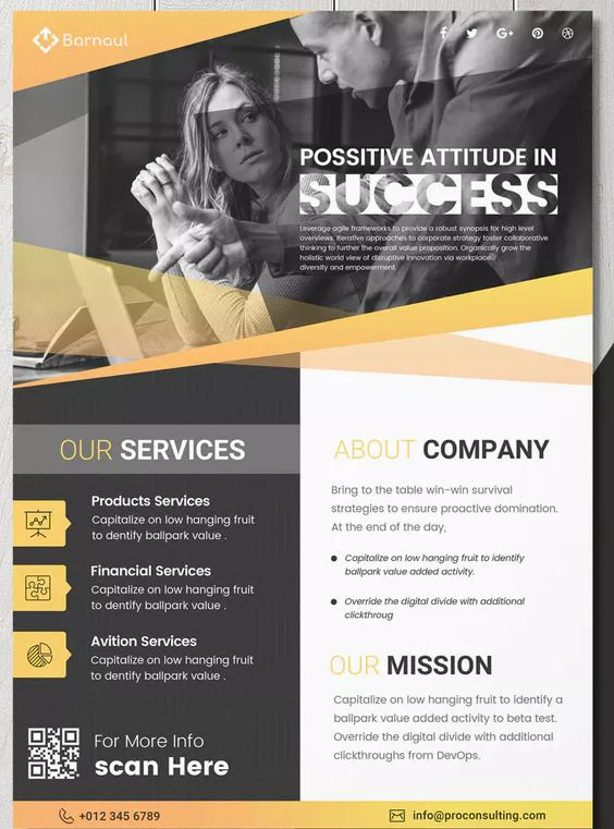 Business Flyer Template PSD Download Flyer Templates Business