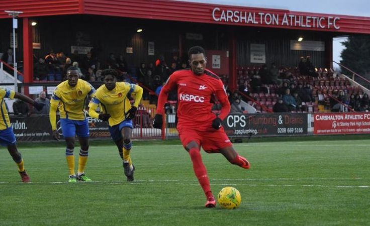 Mickel Miller hat-trick keeps Carshalton Athletic on course