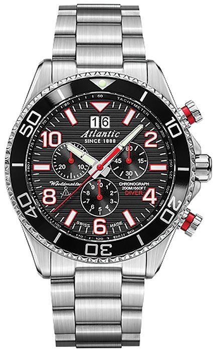 Zegarek męski Atlantic Worldmaster 55475.47.65S - sklep internetowy www.zegarek.net