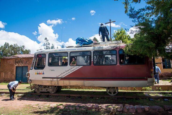 Le ferricarril, le train qui nous emmène de #Sucre à #Potosi en #Bolivie