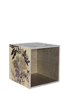 Wooden storage cube orchid black with geo grey - bonnie and neil: Beautiful Boxes, Storage Boxes, Cubes Orchids, Remedies, Storage Cubes, Orchids Black, Products, Stakes Boxes