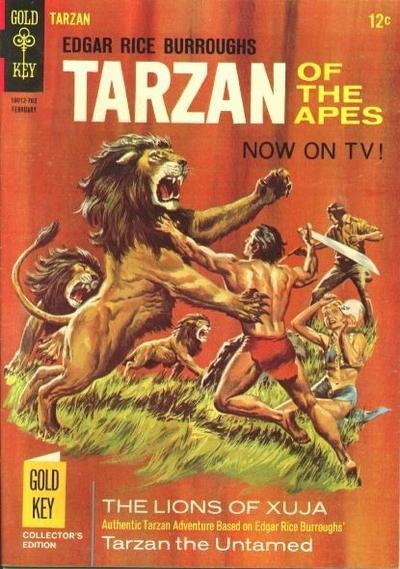 """Tarzan, is a fictional character created by Edgar Rice Burroughs in the 1912 novel """"Tarzan of the Apes"""".  From 1965 to 1969, Russ Manning drew Gold Key Comic's  """"Tarzan"""" series and adapted ten of the first eleven Tarzan novels written by Burroughs."""