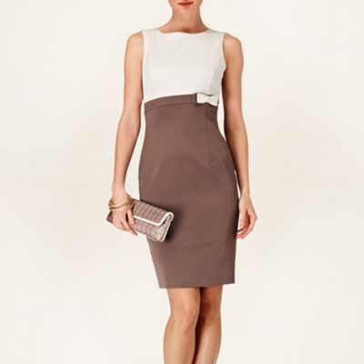 Phase Eight Praline and Cream alice dress- at Debenhams.com