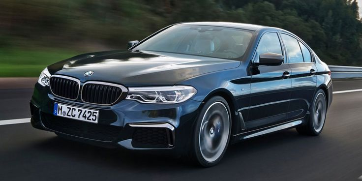 The current M550i (pictured above) is already quicker to 60 mph than the current M5, clocking in at four seconds flat. The new, (probably)all-wheel-drive BMW M5 should be even quicker than that. Plus, we've heard it'll still have a rear-wheel-drive modefor burnouts and power slides. Should the Mercedes-AMG E63 S be worried?