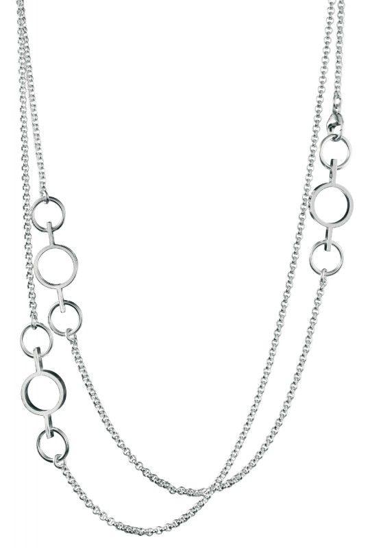 Kalevala Koru / Kalevala Jewelry / Inger-kaulakoru / Inger Necklace / Silver & bronze