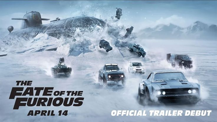 Here's another action-packed trailer for #F8. Get ready, engines start on April 14! https://www.youtube.com/watch?v=jeKBMdYaM3U