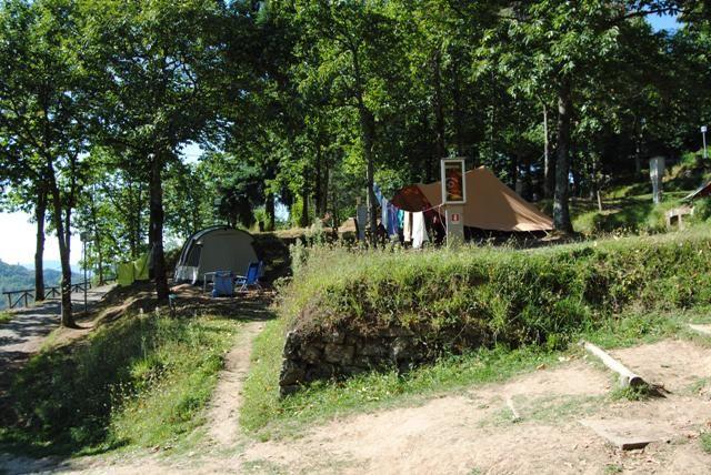 Camping Pian d'Amora, 22 euro, Zoover: 8,0. 40 tenten, 5 caravans. Mooi in het bergachtige gebied. De sfeer is gemoedelijk. Het sanitair is in goede staat. Om er met een caravan te komen is goed te doen. Met name het laatste stuk is erg stijl. Fietsen vereist wel wat ervaring met klimmen. Je kunt erg velen mooie wandeltochten maken en veel kleine Toscaanse dorpjes bekijken.
