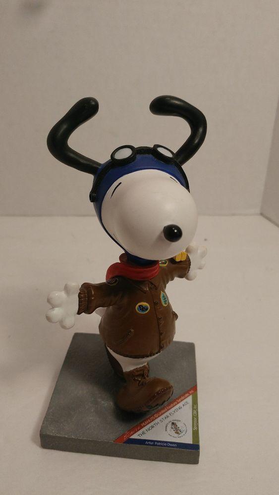Snoopy The North Star Flying Ace Snoopy Westland Giftware Item No. 8405 #WestlandGiftware